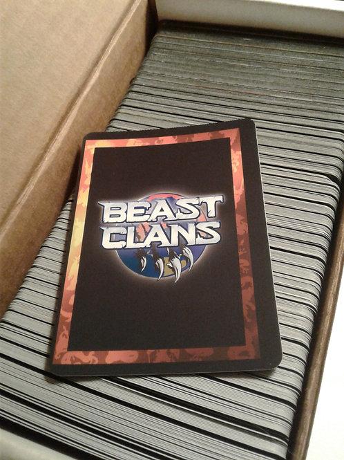 Beast Clans V1 COMPLETE SET