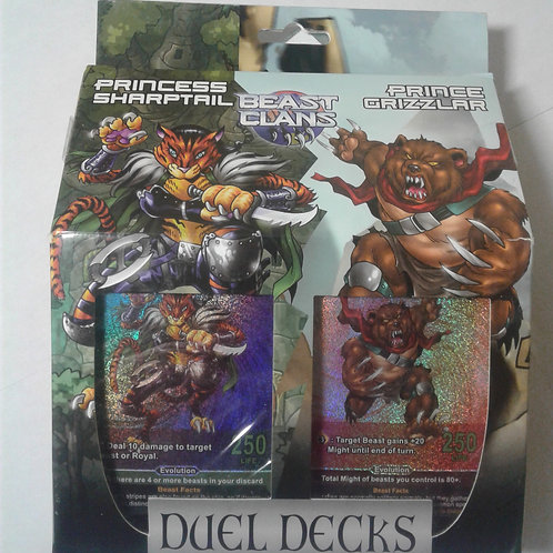 V2 Beast Clans Duel Deck 2 Jungle/Mountain