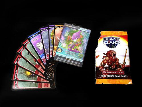 Beast Clans Booster Packs V1 - 5 Packs