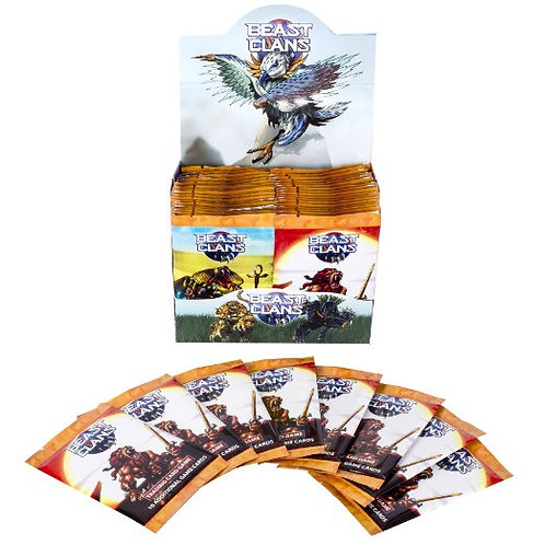 Beast Clans Booster Box- 36 Pack - V1 Mountain Display box