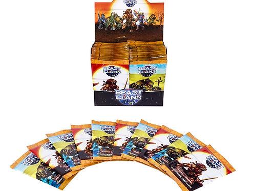 Beast Clans Booster Box- 36 Pack - V1 Savannah Display Box