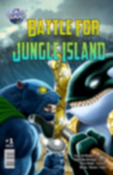 Trading Card Game Comic : Battle for Jungle Island