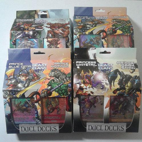 V2 Beast Clans 4 pack Duel Deck