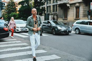 Street Style Garbagelapsap  Milan fashion week