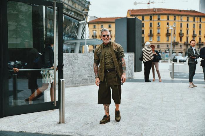 Street Style Garbagelapsap  Milan fashion week  nick wooster