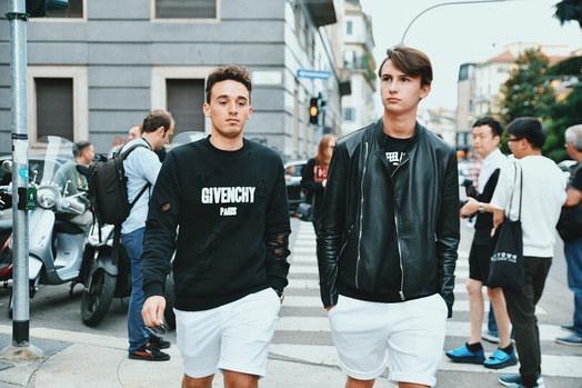 Street Style Garbagelapsap  Milan fashion week  givenchy