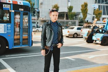 GD street style fashion garbagelapsap seoul fashion week sfw