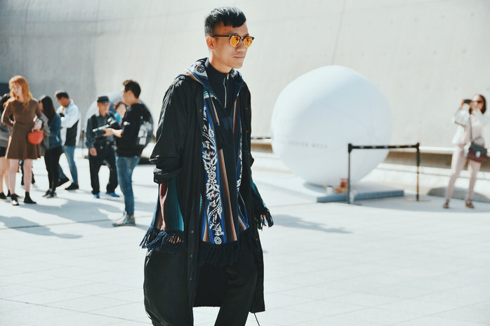 sacai street style fashion garbagelapsap seoul fashion week sfw