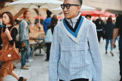 street style fashion garbagelapsap seoul fashion week sfw raf simons