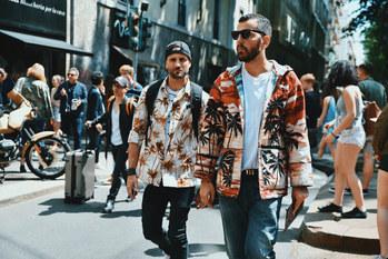 Street Style Garbagelapsap fashion week Milan street  saint laurent