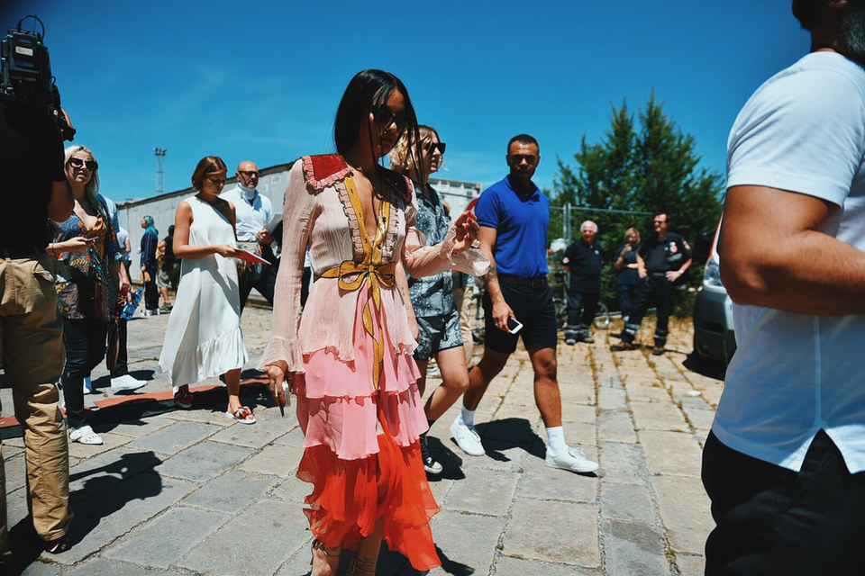 Street Style Garbagelapsap  Milan fashion week gucci