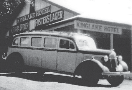 Carman's 'Chars-a-Bancs' motor bus 1930s