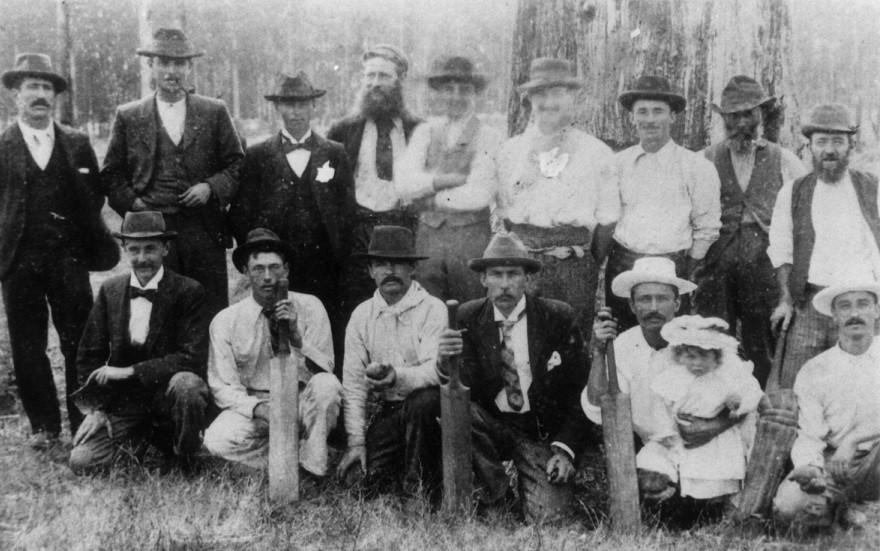 Kinglake East Cricket Team 1908