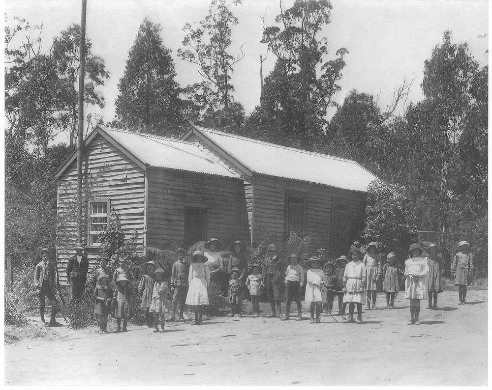 The first school in Kinglake was built in 1898