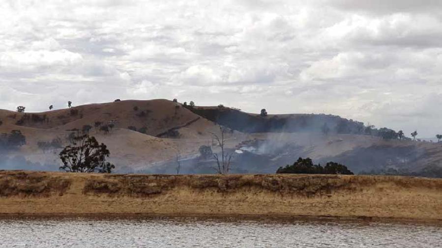 The fire at Glenburn