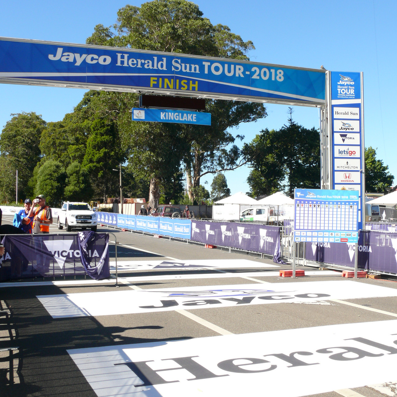 The final stage of the Jayco-Herald