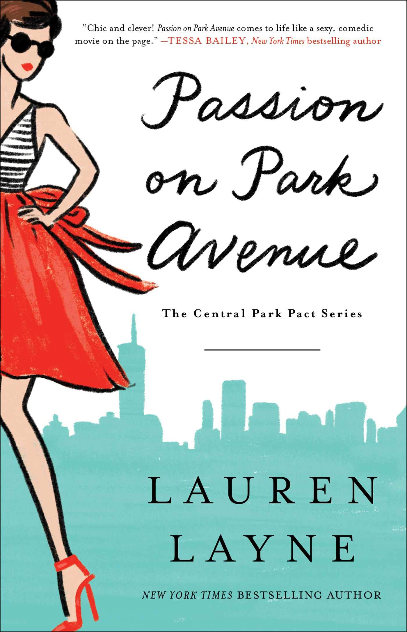 Passion on Park Avenue Book Cover