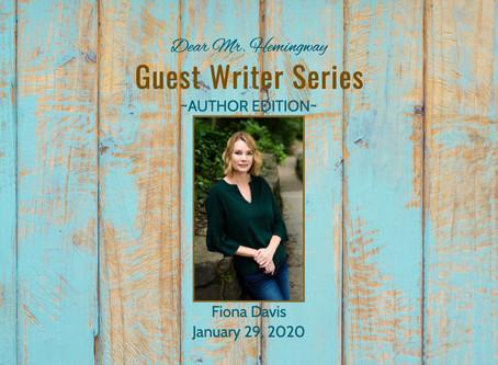 Guest Writer~Fiona Davis