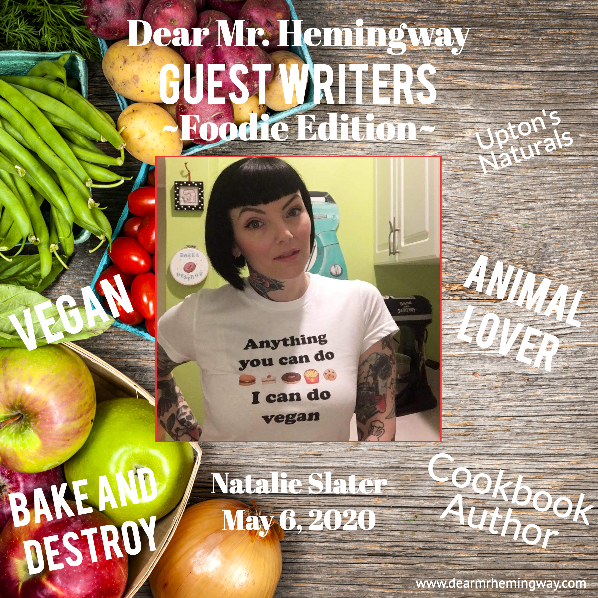 Natalie Slater, Foodie Author