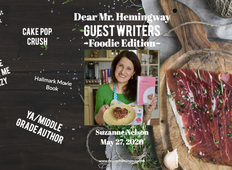 Guest Writer~Suzanne Nelson