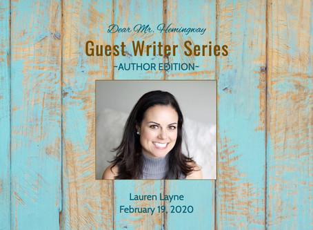 Guest Writer~Lauren Layne