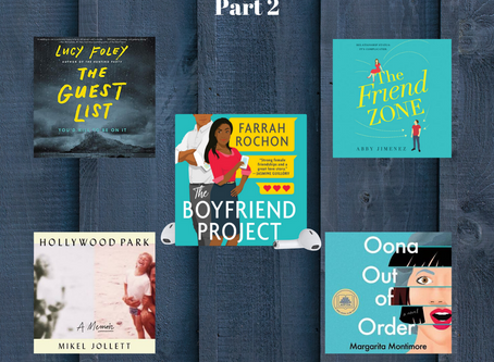 Audio Books Worth Your Hours