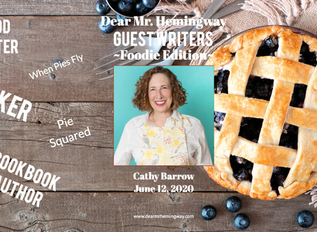 Guest Writer~Cathy Barrow