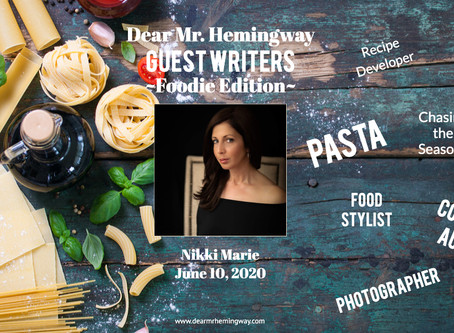 Guest Writer~Nikki Marie