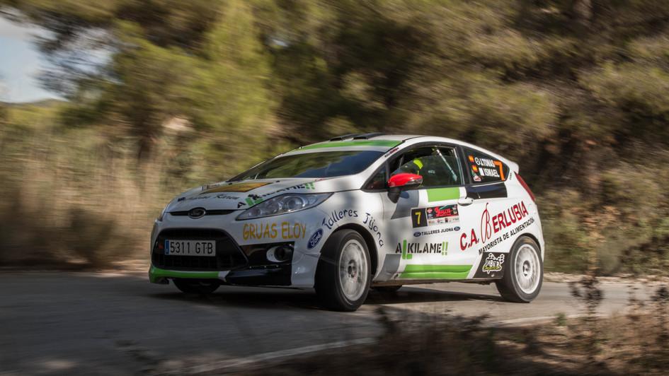Ford Fiesta R2 -  Jose Tomas Perez/Ismael Miralles