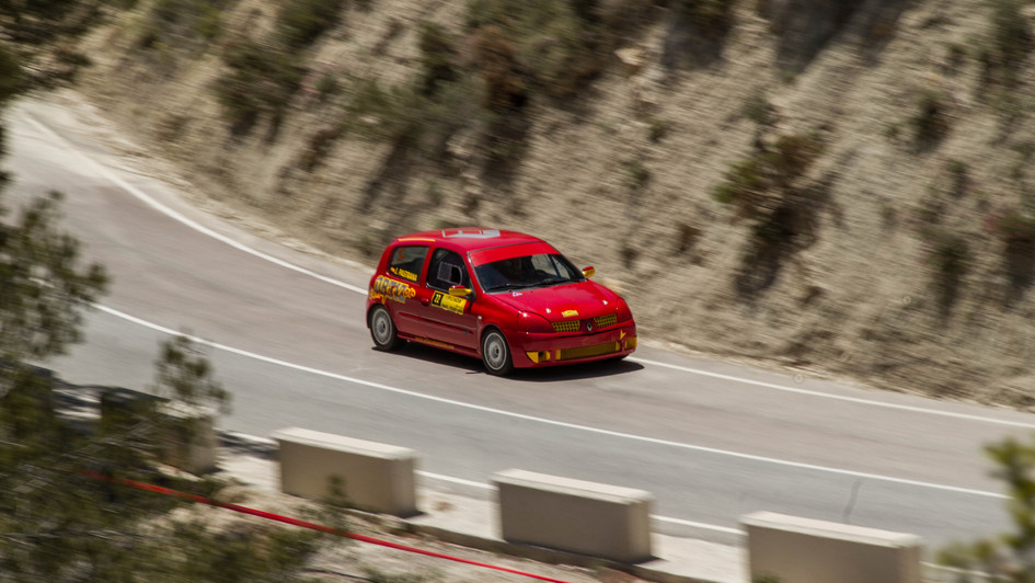 Renault Clio Sport - Jaime Pastrana