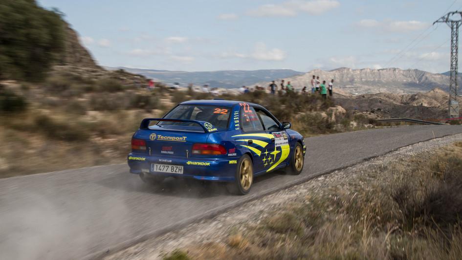 Subaru GT - Francisco Anton/Juan José Teodoro