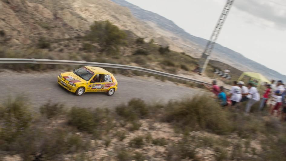 Peugeot 106 Rallye - Francisco Alberola/Alberto Terol