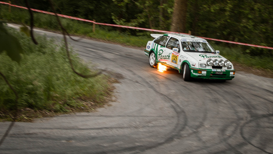 Ford Sierra RS Cosworth - Serge Cazaux/Vincent Clavier