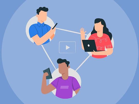 Interação e conectividade entre pessoas