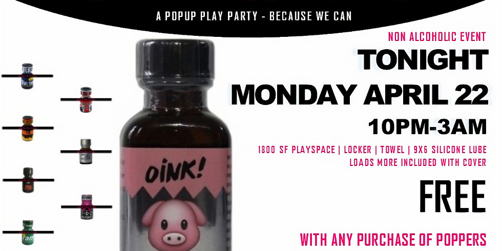 POPPERD UP - FREE* POPUP EVENT
