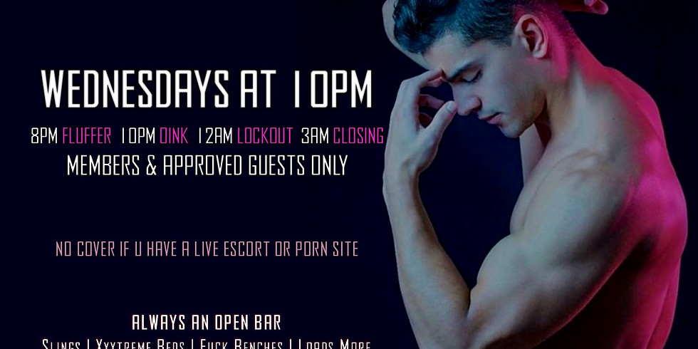 10PM WHORE WEDNESDAY at OINK NIGHT