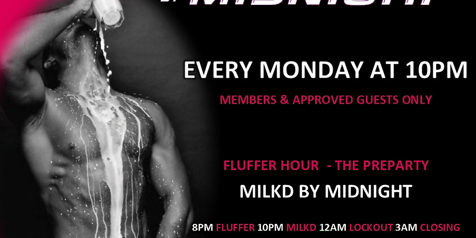 10PM MILKD by MIDNIGHT at OINK NIGHT