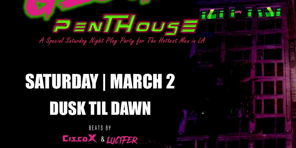 THE GLOWING PENTHOUSE - SPECIAL EVENT