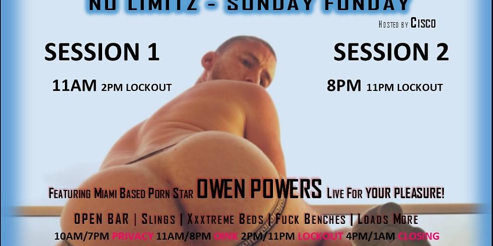 DUMPINGROUND - OWEN POWERS XXX - 8PM EVENING SESSION