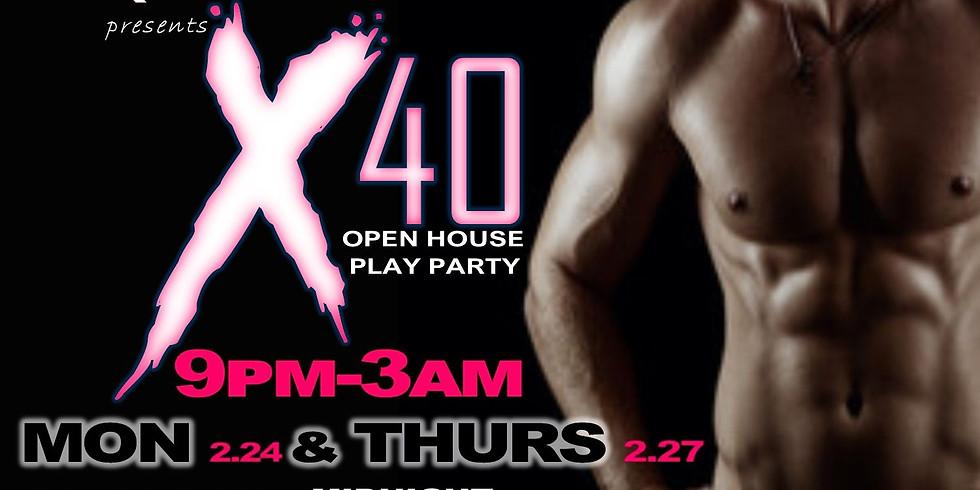 X40 FREE OPEN HOUSE