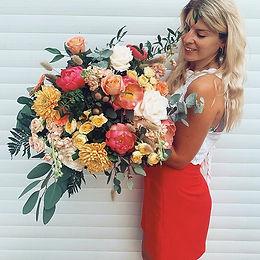 Bouquet - Coral Charm