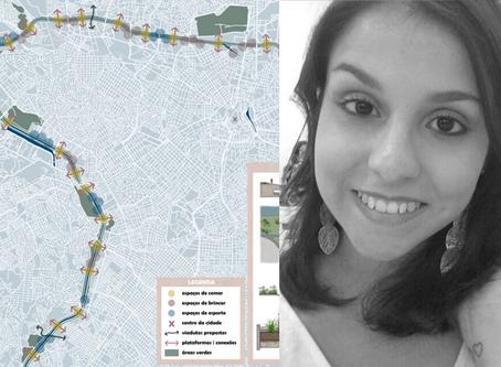 Alanna Matos, arquiteta e urbanista, é a Diretora Regional da rede e-DAU em Jundiaí, SP, Brasil