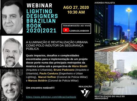VJ promove encontro na web sobre Iluminação e revitalização urbana
