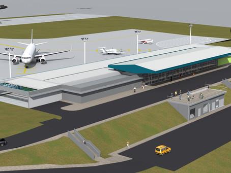 Borelli & Merigo vêem o início da construção do seu Aeroporto de Chapecó, em janeiro de 2021