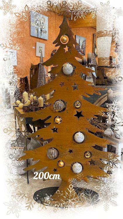 Weihnachtsbaum mit oder ohne Kugeln