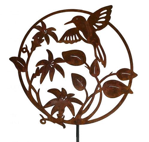Kolibri Ornament Edelrost
