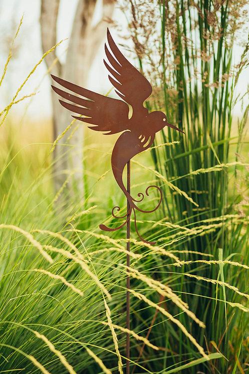 """Gartenstecker """"fliegender Kolibri"""""""