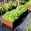 Thumbnail: CORTEN-Blumenkübel länglich