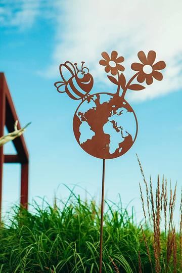 "Gartenstab""Happy Planet"""