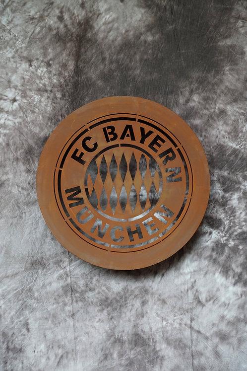 FC-Bayern 3D Wandbild
